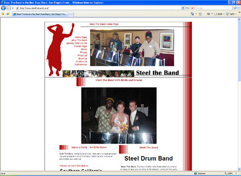 Steel the Band - steel drum band