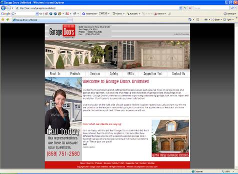 Garage Doors Unlimited Garage Doors San Diego